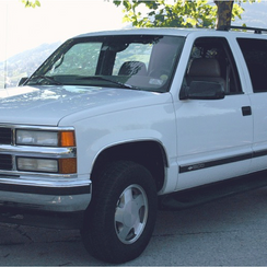 Chevrolet Suburban jeep - Philip's Excursions