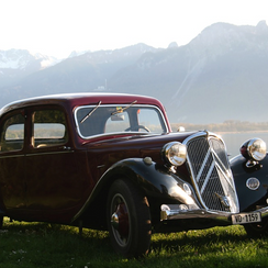 "Citroën Traction Avant ""light"" limousine, 1937 model - Philip's Excurs"